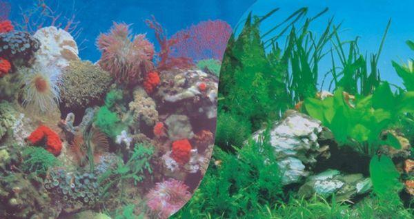 Фон плівка для акваріума