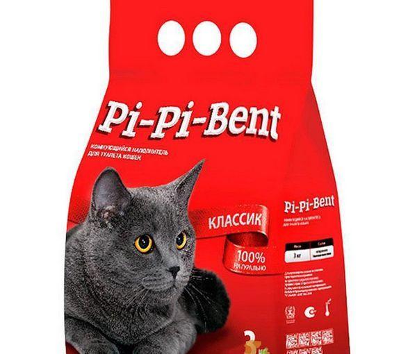 Грудкує наповнювач Pi-Pi-Bent Класик 3 кг