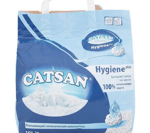 Наповнювач Catsan для котячого туалету