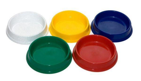 Пластикові миски для котів