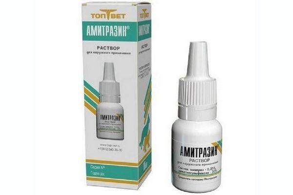 Amitrazín pre mačky: návod na použitie