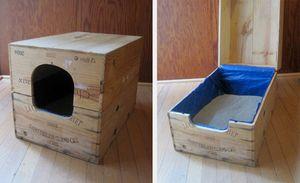 Закритий лоток для кішок