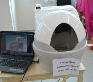Автоматичний котячий туалет
