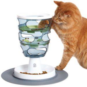 Automatické podávače mačiek
