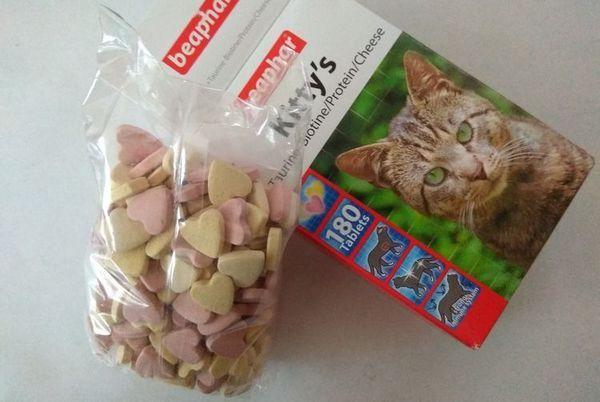 Beaphar вітаміни для кішок
