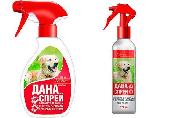 Спрей Дана для собак