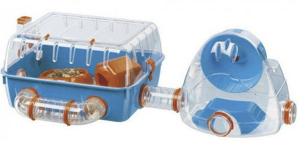Plastová modulárna klietka