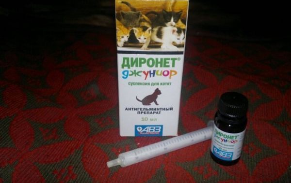 Склад препарату Діронет