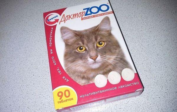 Доктор ЗОО вітаміни для кішок