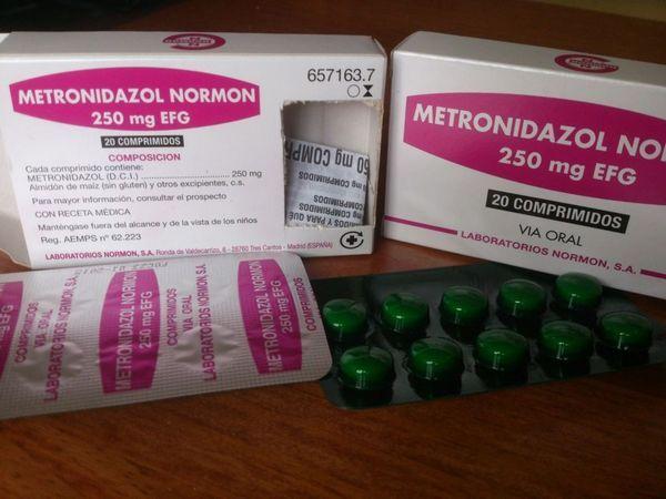Побічні дії метронідазолу