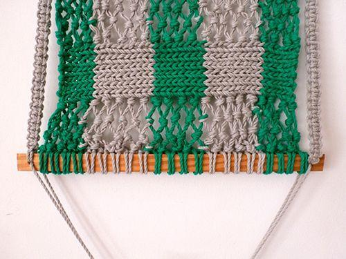 Плетіння полотна гамака