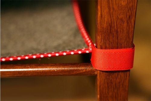 Кріплення гамака до стільця
