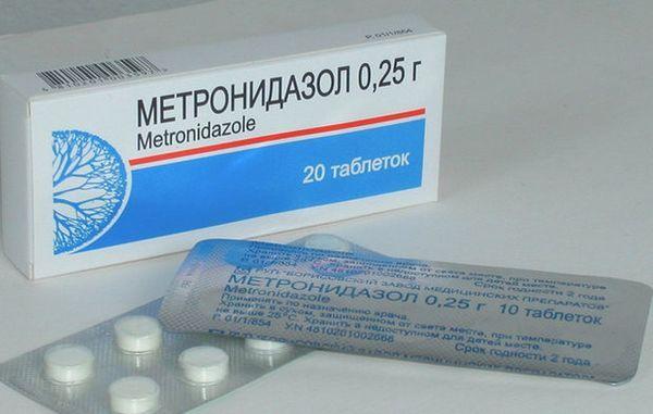 «Метронідазол».
