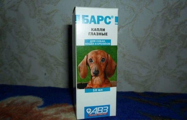 Очні краплі для собак Барс