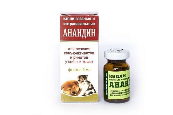 Очні краплі для собак Анандін