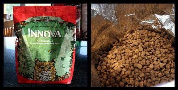 Сухий корм для кішок Иннова