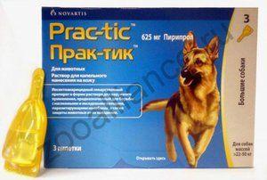 Прак-тик Prac-tic Краплі від Блох і кліщів для Собак