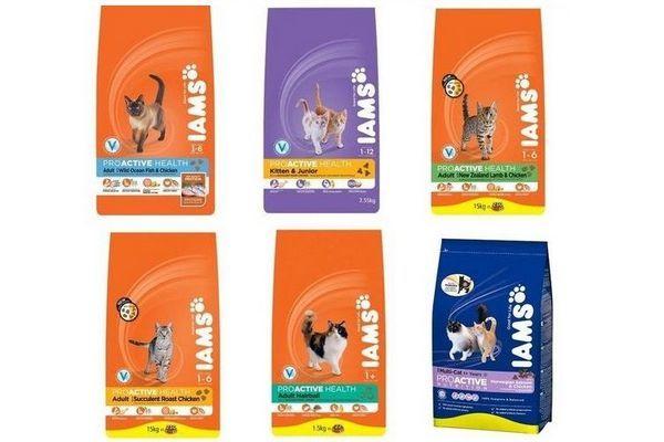 Ямс (iams) котешка храна