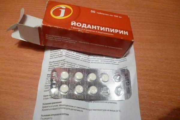 Jodantipyrín - vlastnosti lieku na prevenciu kliešťovej encefalitídy