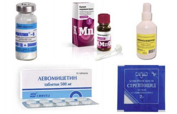 Препарати для лікування плавникової гнилі