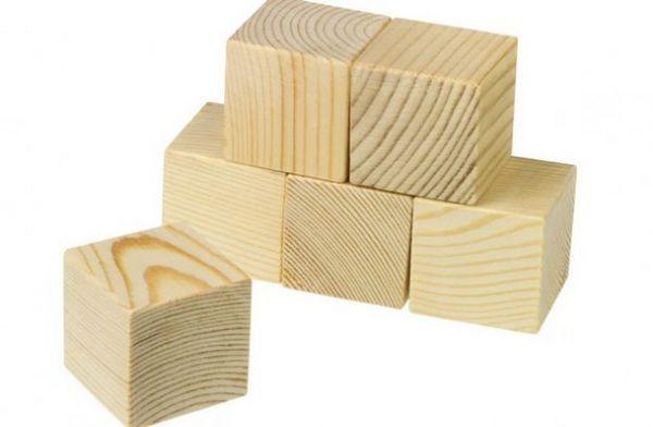 дерев`яні кубики