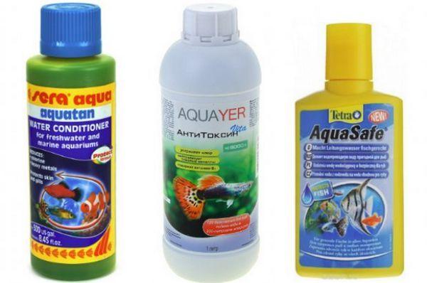 Хімічні акваріумні кондиціонери