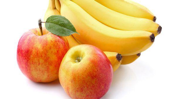 Банани і яблука