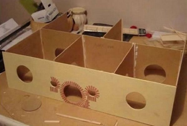Як зробити будиночок для хом`яка своїми руками