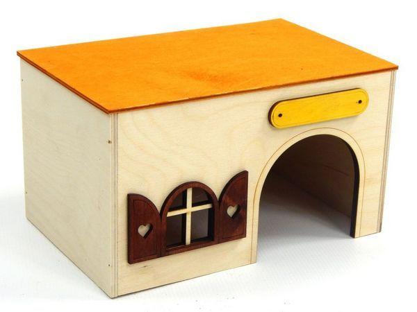 простий будиночок