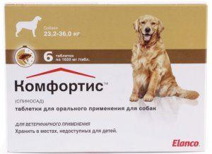 `Comfortis` - таблетки за профилактика и лечение на бълхи при домашен любимец