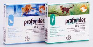 Profender pre mačky - spoľahlivé ošetrenie červami