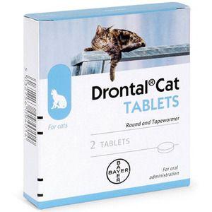 Drontal je liek proti červom pre mačky, psy a ľudí.