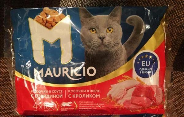 Маурисио Храна за котки