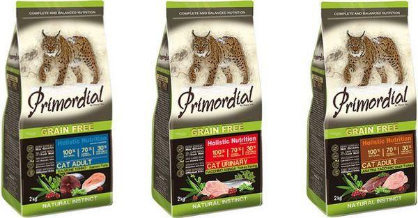 Холістік для кішок Primordial