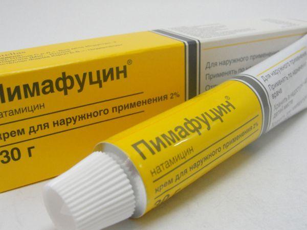Пимафуцин крем - облекчава неприятните симптоми, унищожава локална инфекция.