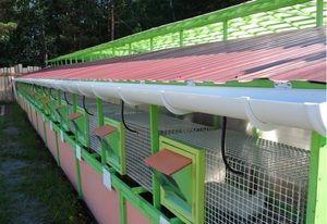 Будівництво міні-ферми для кроликів