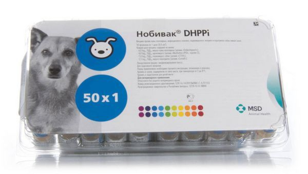 Нобівак DHPPI