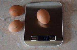 Як визначити вагу курячого яйця