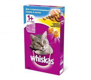 віскас для стерилізованих кішок