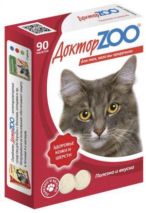 Вітаміни Доктор ZOO для кішок