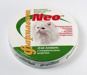 Добавки і вітаміни для кішок