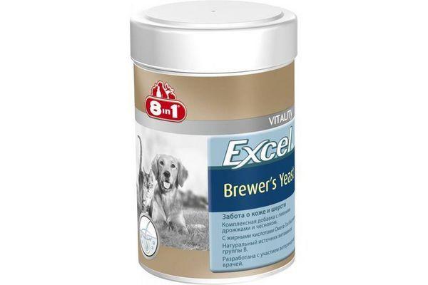 Пивні дріжджі «8 в 1 Excel Brewer`s Yeast»