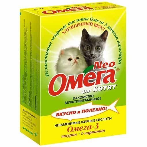 Neo omega vitamíny pre mačky