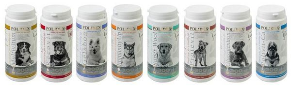 Vitamíny polydex pre psy