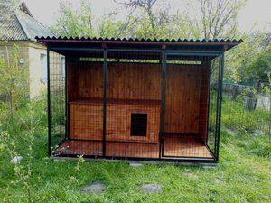 Як побудувати будку алабая