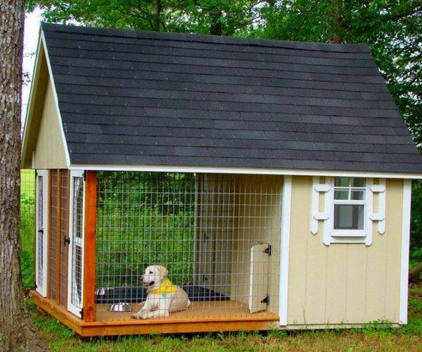 Якщо у вас є собака і ви живете у власному будинку, потрібно продумати місце, де буде жити вихованець. У селах такими будиночками служать будки, а в міських умовах необхідні вольєри для собак