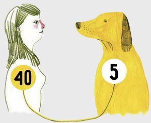 Vek psa podľa ľudských štandardov, aký starý je váš štvornohý?