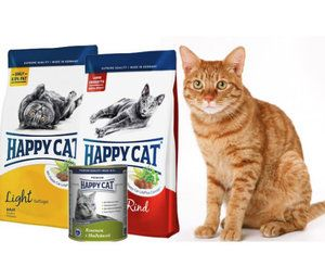 Все про корм для кішок «Happy Cat» ( «Хеппі Кет»)