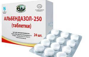 препарат альбендазол