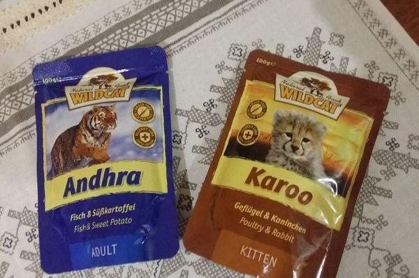 Вологий корм для кішок Wild Cat